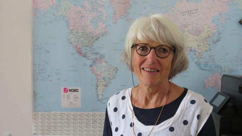 A professora Isabelle ... . / Foto: Enzo De Lisita