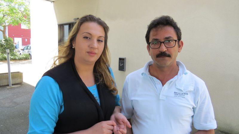 """Casal de sírios Mourad e Manal .... : """"Nós nos sentimos integrados."""" / Foto: Enzo De Lisita"""