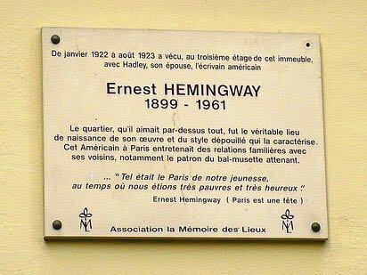 Placa Hemingway