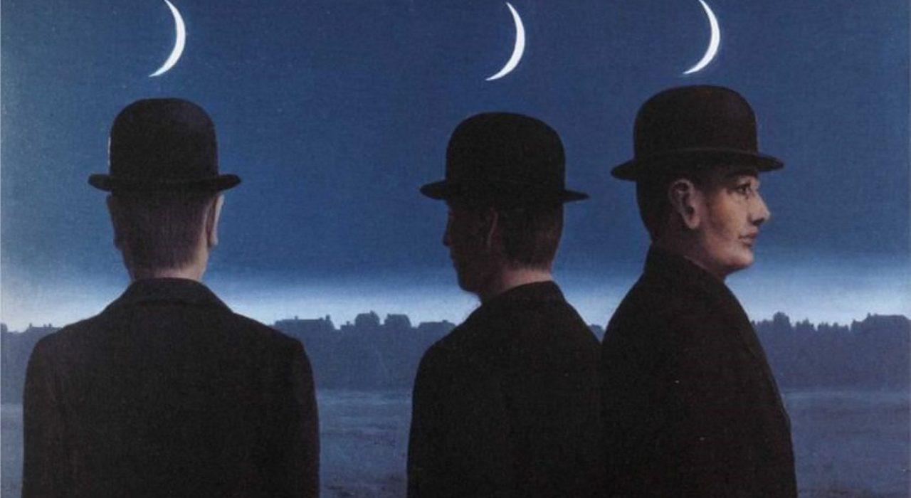 Imagem: Os Mistérios do Horizonte (Magritte)