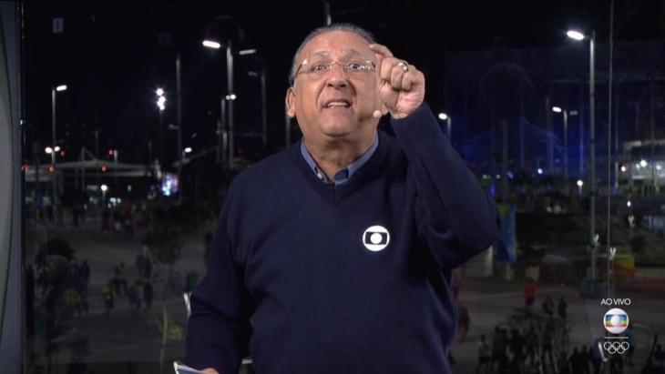 Galvão: como a maioria dos brasileiros, ele não se lembra de outros esportes fora do período olímpico
