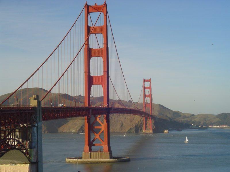 Golden Gate, o maior, mas não o único, cartão-postal de San Francisco. / Foto: Rogério Borges