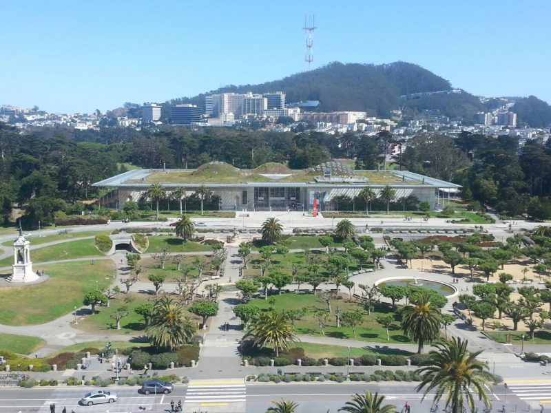 Estilo arquitetônico que respeita a natureza: os parques de San Francisco valem o passeio. / Foto: Malu Longo