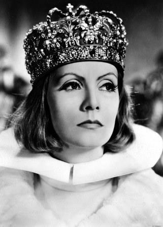 Greta Garbo em Rainha Cristina. Foto: Divulgação
