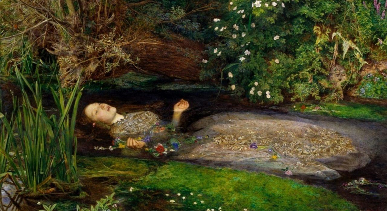 Imagem: Ophelia (Sir John Everett Millais)