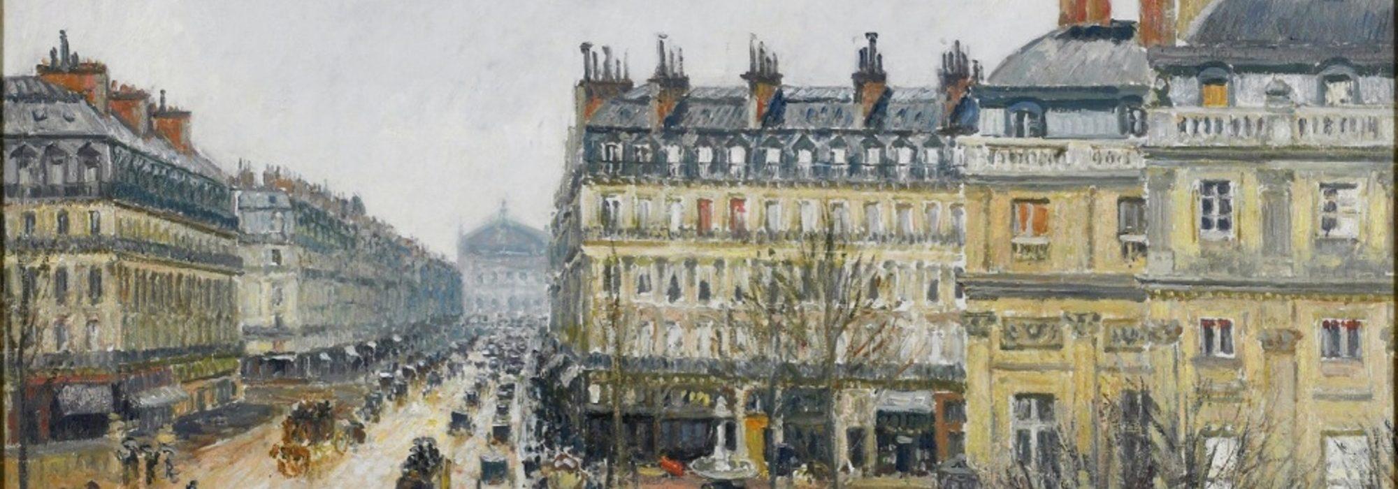 Imagem: Avenue d l'Opéra (Pissarro)