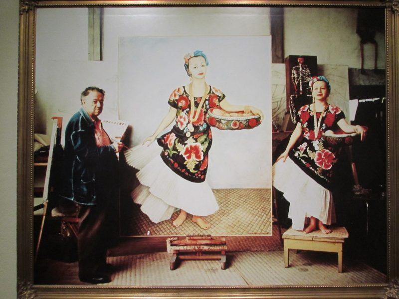 Dolores Olmedo posa para tela de Diego Rivera: inspiração e atração