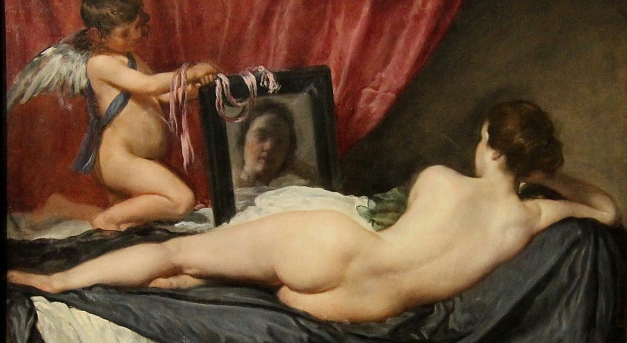 Imagem: Vênus ao Espelho (Velázquez)