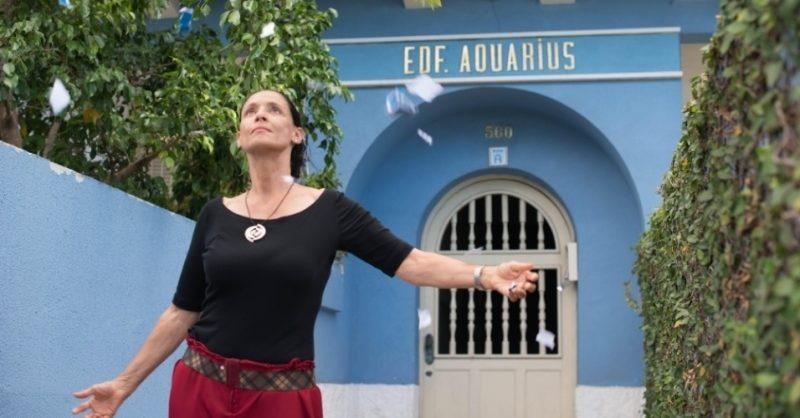 Sônia Braga em cena do filme Aquarius: reflexão sobre os verdadeiros valores de nossa sociedade. / Crédito: Divulgação