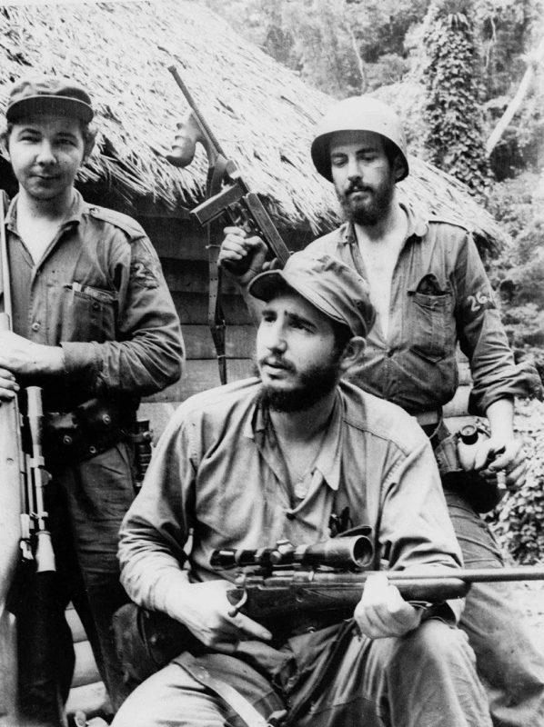 Fidel Castro e os lendários guerrilheiros da Sierra Maestra: revolução que espantou o mundo