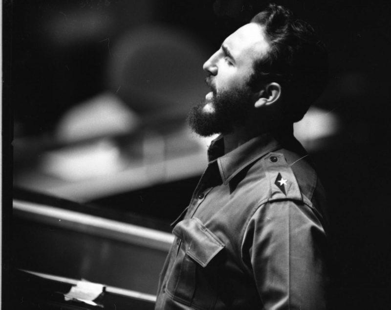 Fidel Castro discursa na ONU em 1960: um país comunista no quintal dos EUA