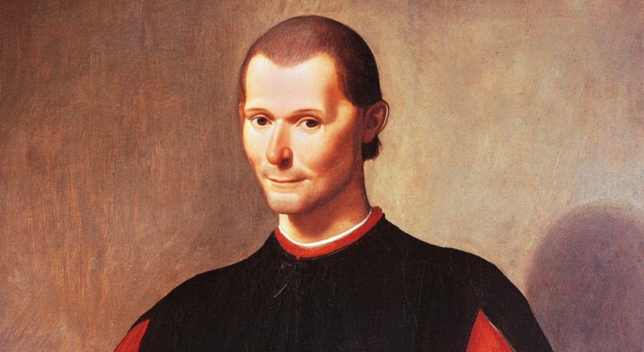Imagem: Maquiavel (Santi di Tito)