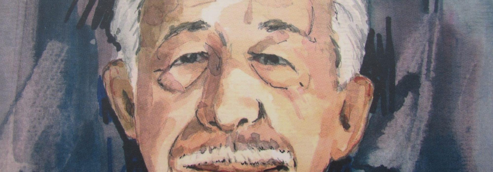 Imagem: Retrato de Benedito Rocha por Amaury Menezes