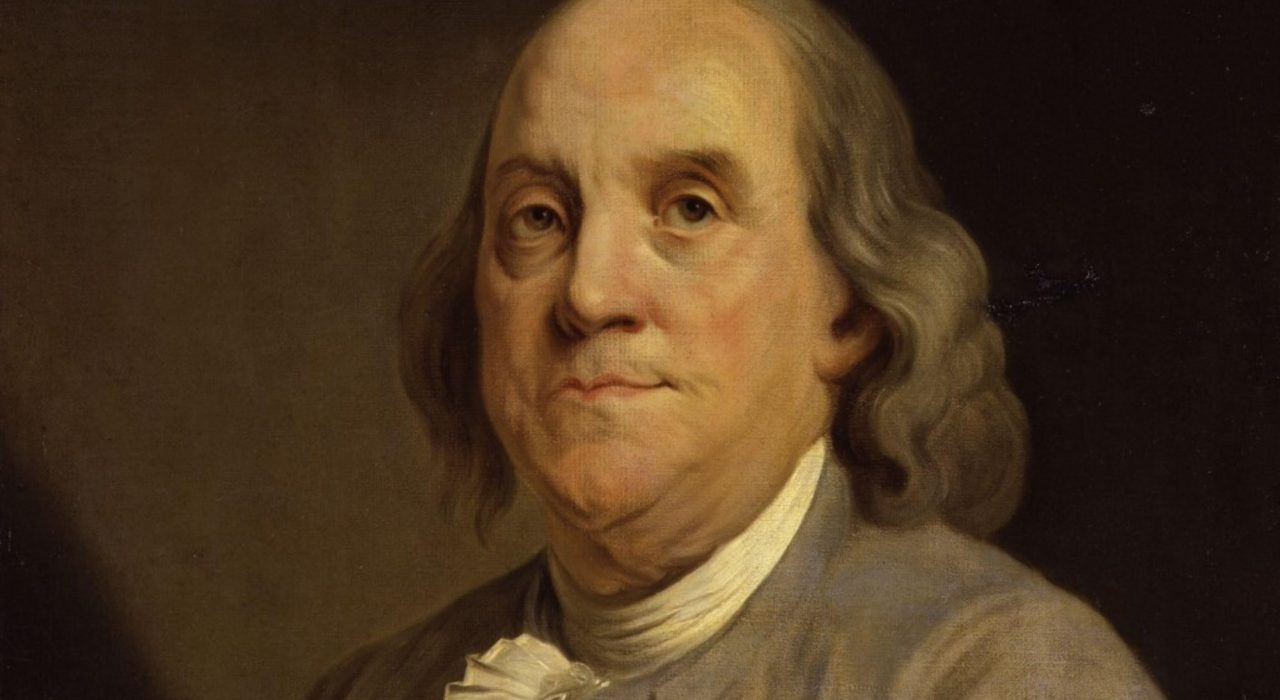 Imagem: Benjamin Franklin (Joseph Siffred Duplessis)