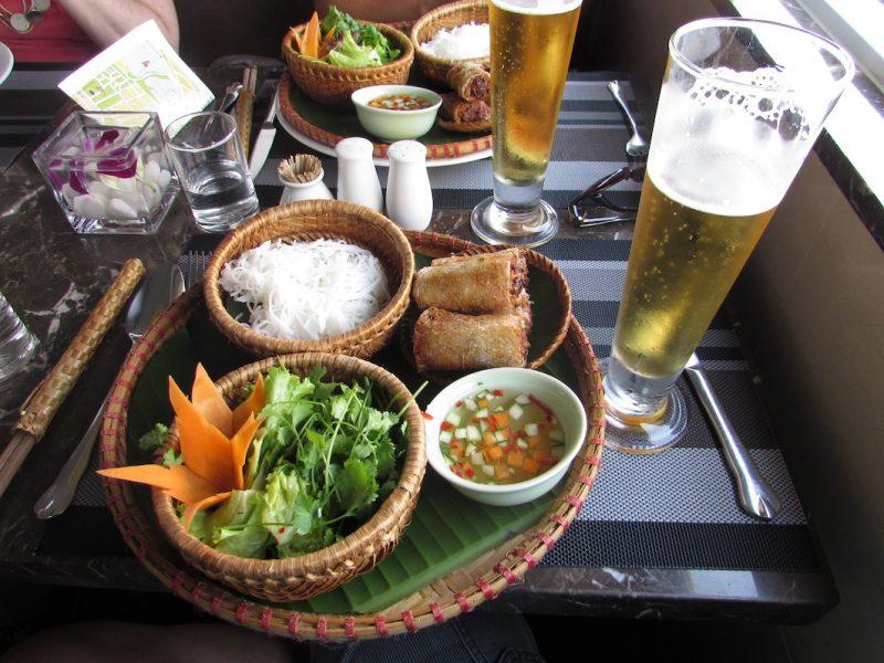 Culinária vietnamita: pratos deliciosos. / Foto: Rogério Borges