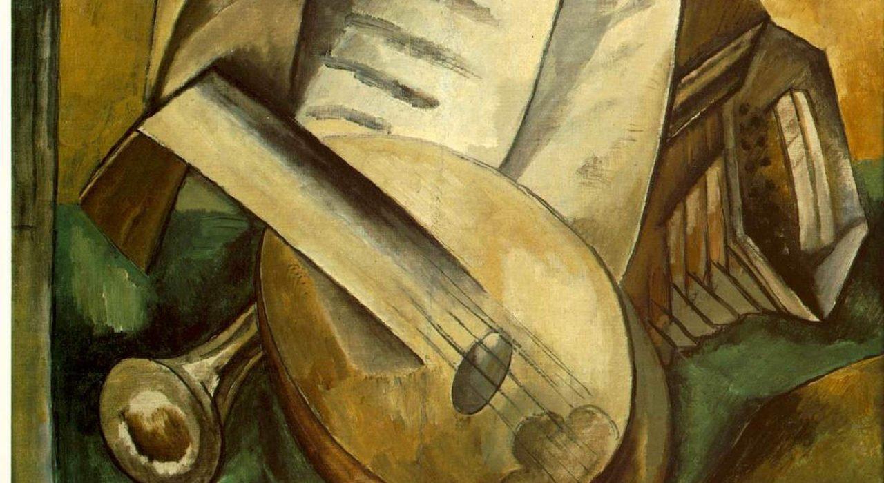 Imagem: Instrumentos Musicais (Georges Braque)