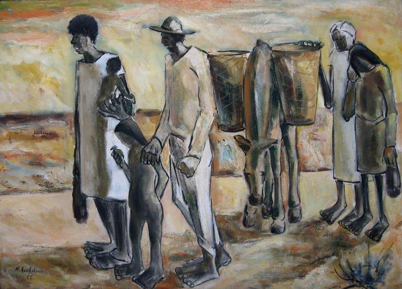 Confaloni. Sem título, 1996, óleo sobre tela
