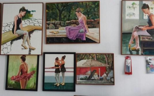 As Bailarinas, de Amaury Menezes. Foto: Valbene Bezerra