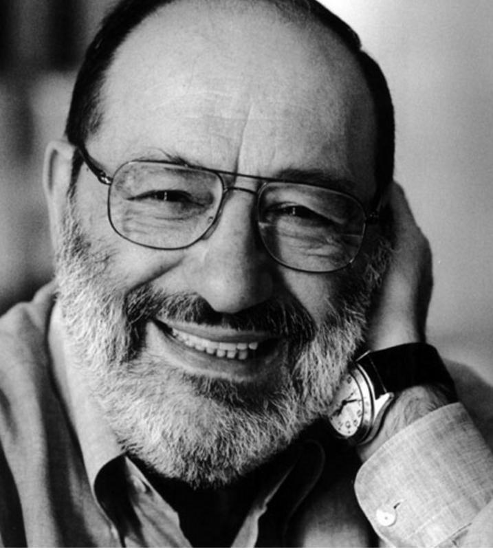 Umberto Eco: autor italiano é referência e está na biblioteca de Heitor Rosa