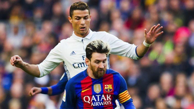 Os craques Cristiano Ronaldo e Messi: os jogaços de hoje. / Fonte: Goal