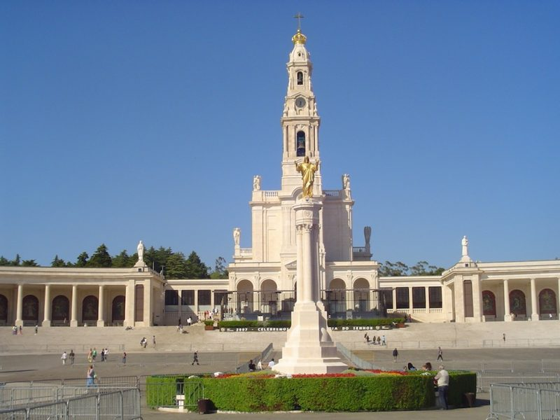 Santuário de Fátima, em Portugal: 100 anos das aparições de Nossa Senhora. / Foto: Rogério Borges