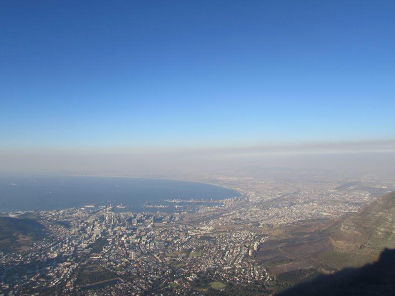 Baía da Mesa e a Cidade do Cabo: um lugar que redesenhou o mundo. / Foto: Rogério Borges