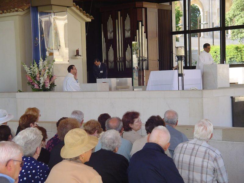 Capelinha das Aparições, com a imagem de Nossa Senhora de Fátima: devoção. / Foto: Rogério Borges