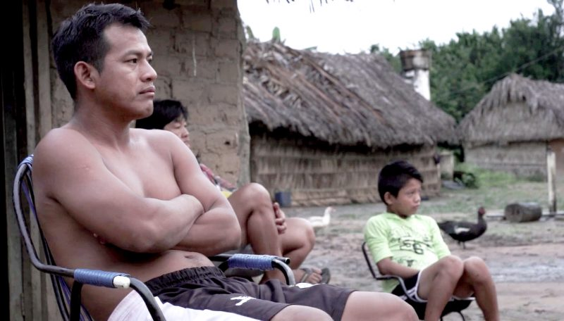 Entrevista com os índios para o documentário: aldeias na Ilha do Bananal / Imagem: Divulgação