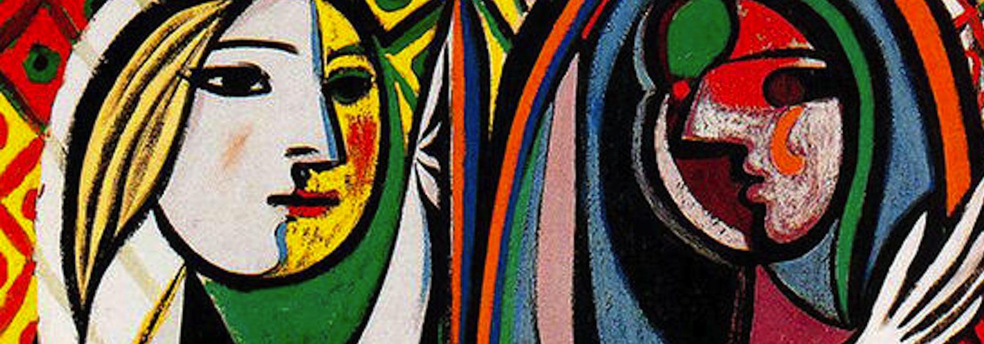 Garota em Frente ao Espelho - Pablo Picasso