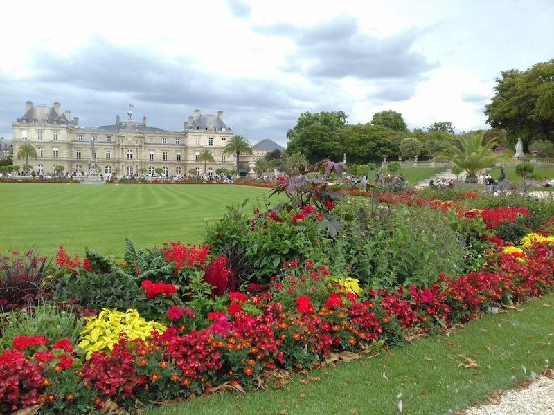 Jardim de Luxemburgo: em torno dele, moraram celebridades reais e da ficção. / Foto: Rogério Borges