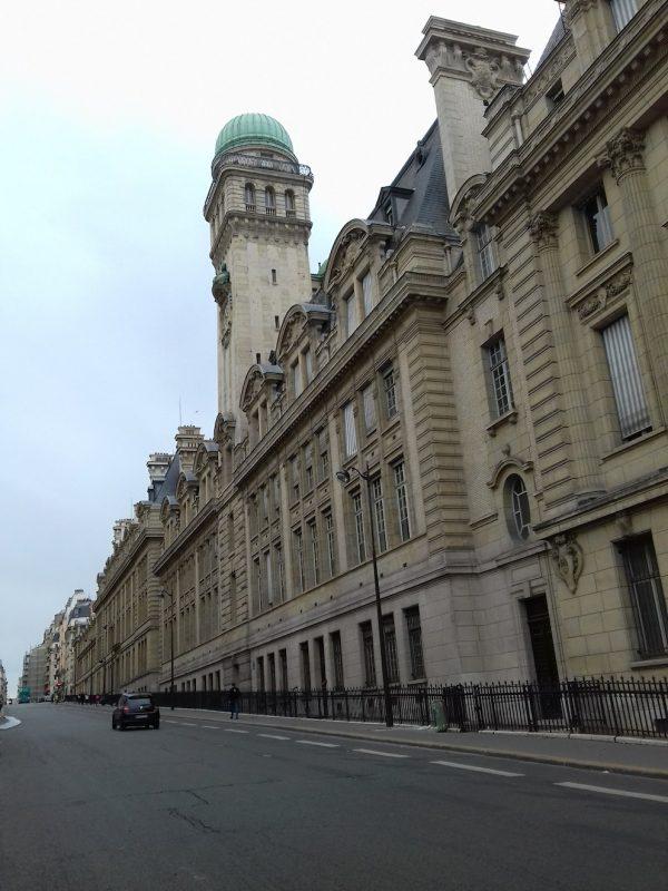 A Sorbonne, uma das principais universidades do mundo: coração do Quartier Latin. / Foto: Rogério Borges
