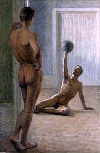 Obra de Eugene Jansson, com sua ousadia de sempre: arte patrulhada.