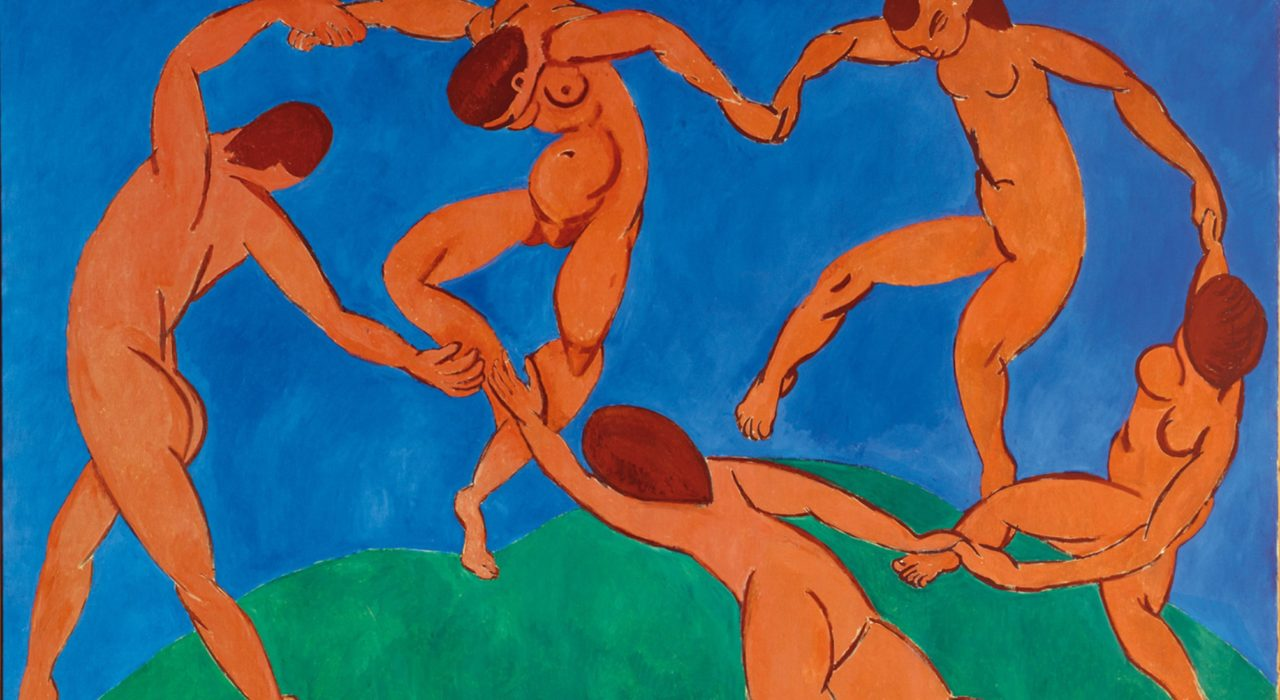 Imagem: A Dança (Matisse)