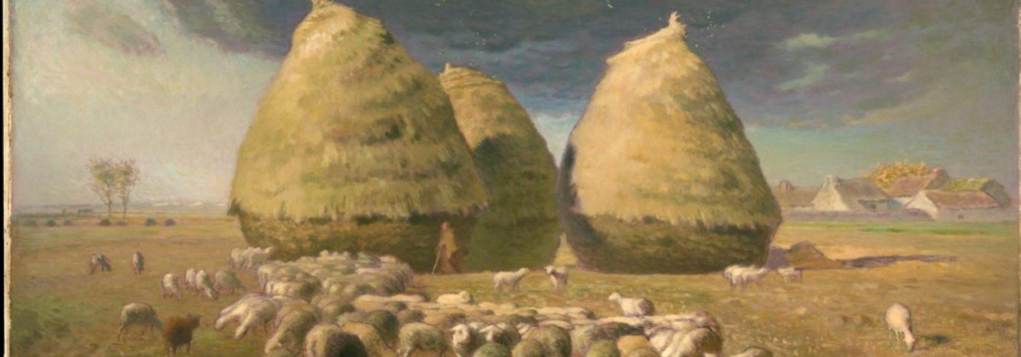 Imagem: Les Meules d'Automne (Millet)