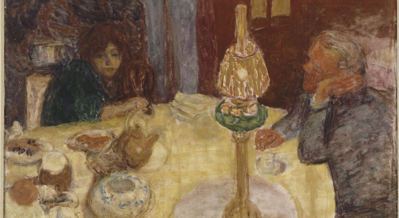 Imagem: La Soirée sous la Lampe (Pierre Bonnard)