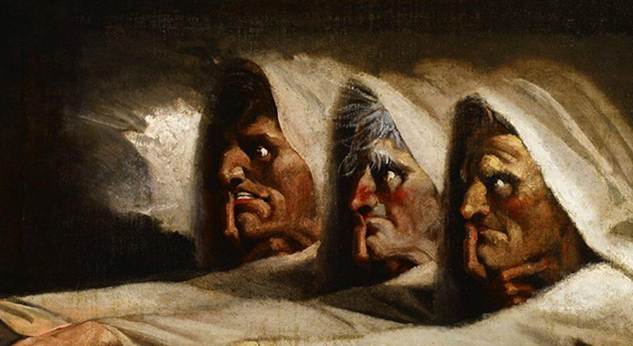 Imagem: Três Bruxas (Henry Fuseli)