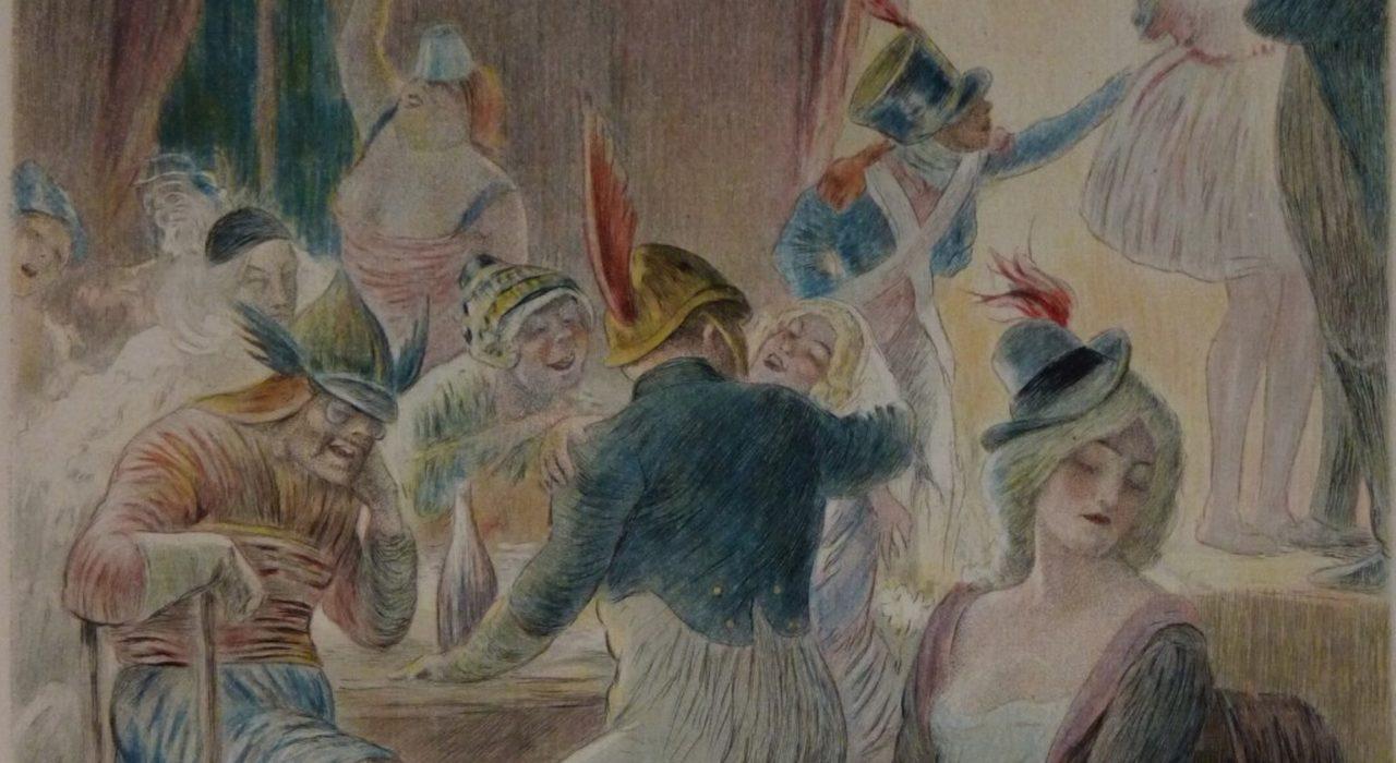 Imagem: ilustração de Charles Leandre para o livro Madame Bovary