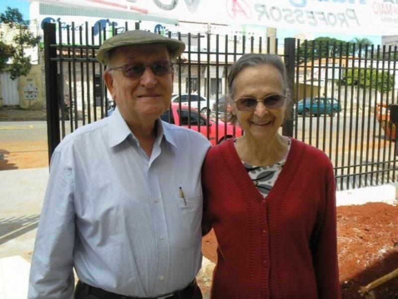 Casal Egidio e Celenita Turchi: nomes primordiais na educação em Goiás / Foto: ADUFG