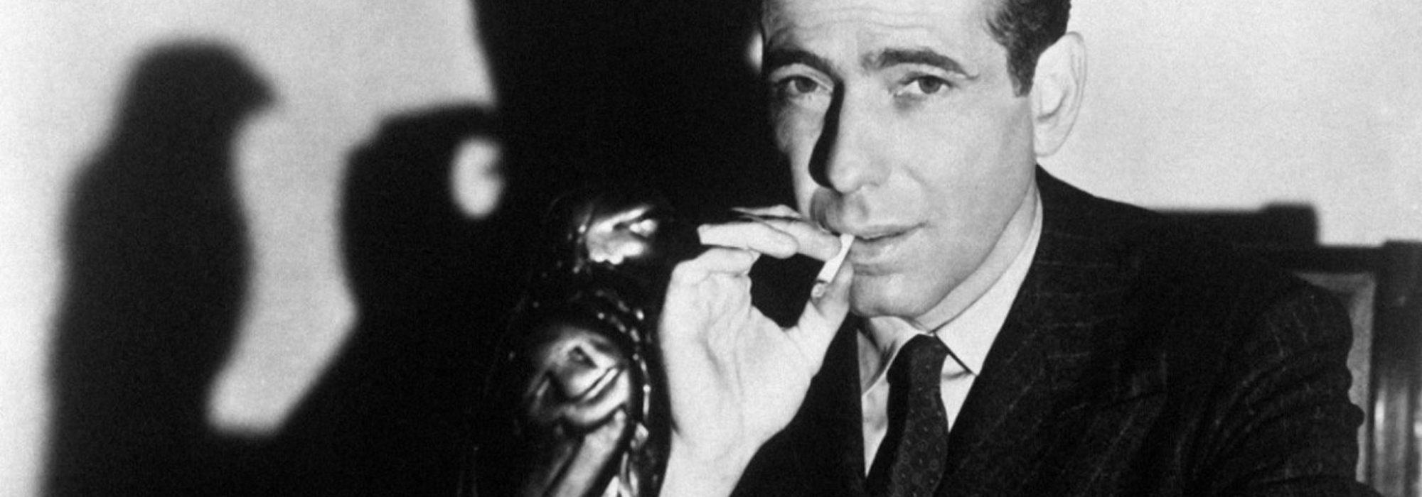 Foto: Humphrey Bogart em O Falcão Maltês
