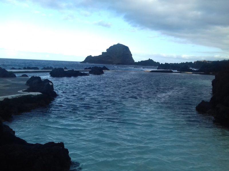 Piscinas de Porto Moniz: águas ao sabor das marés. / Foto: Rogério Borges