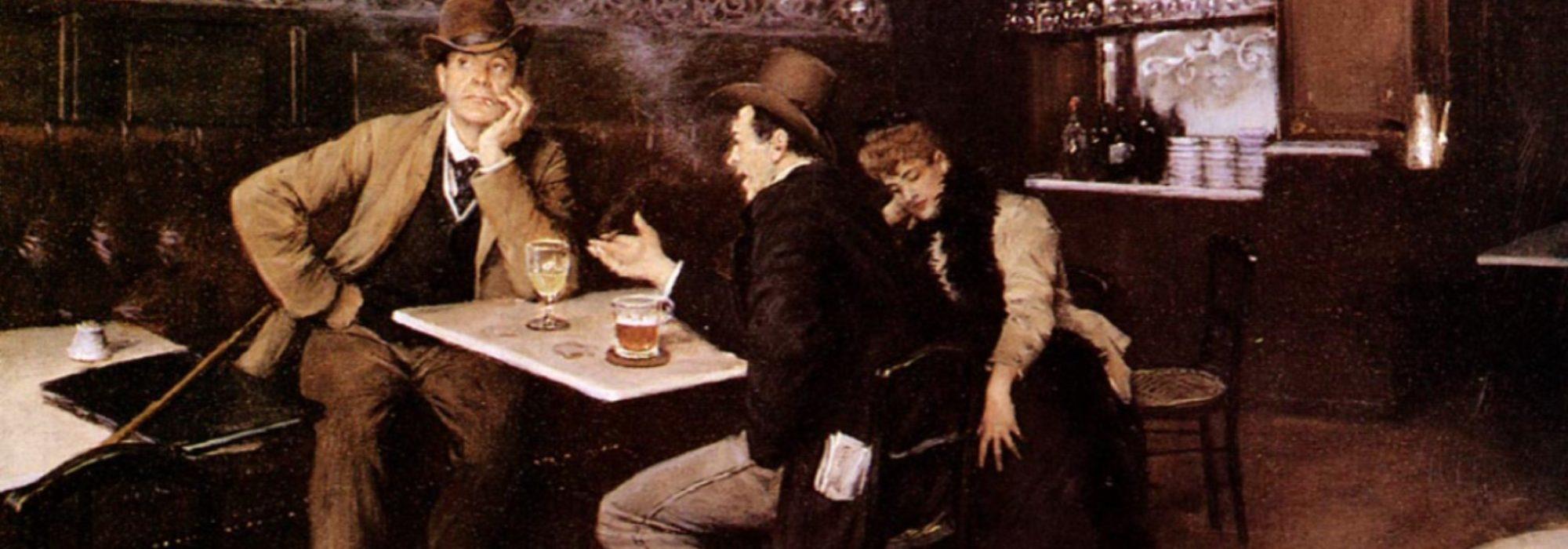 Imagem: Au Bistrot (Jean Béraud)