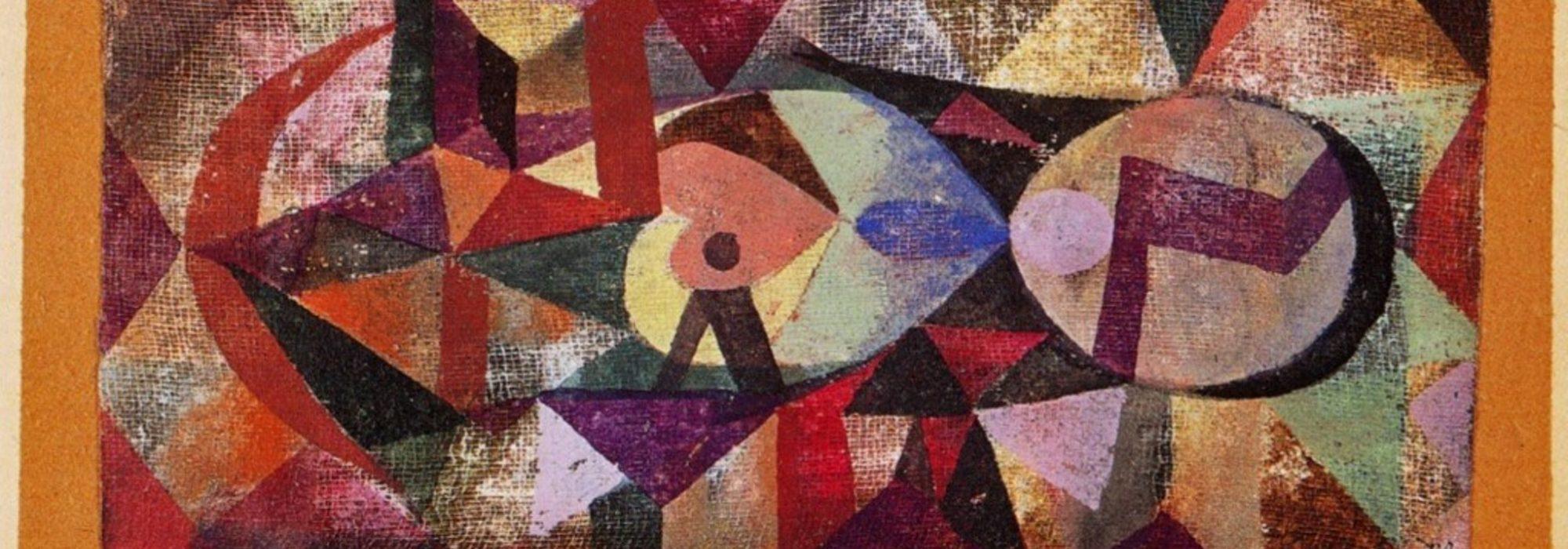 Imagem: Ab ovo (Paul Klee)