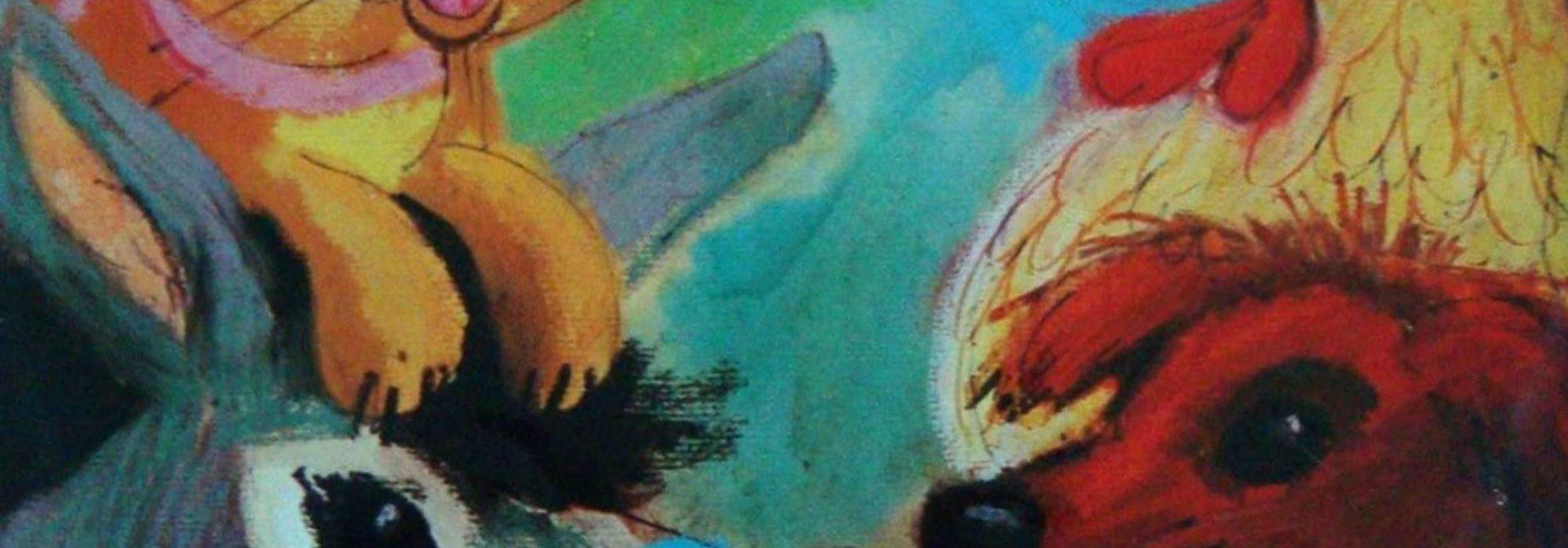 Imagem: detalhe da capa do disco Os Saltimbancos, de Chico Buarque