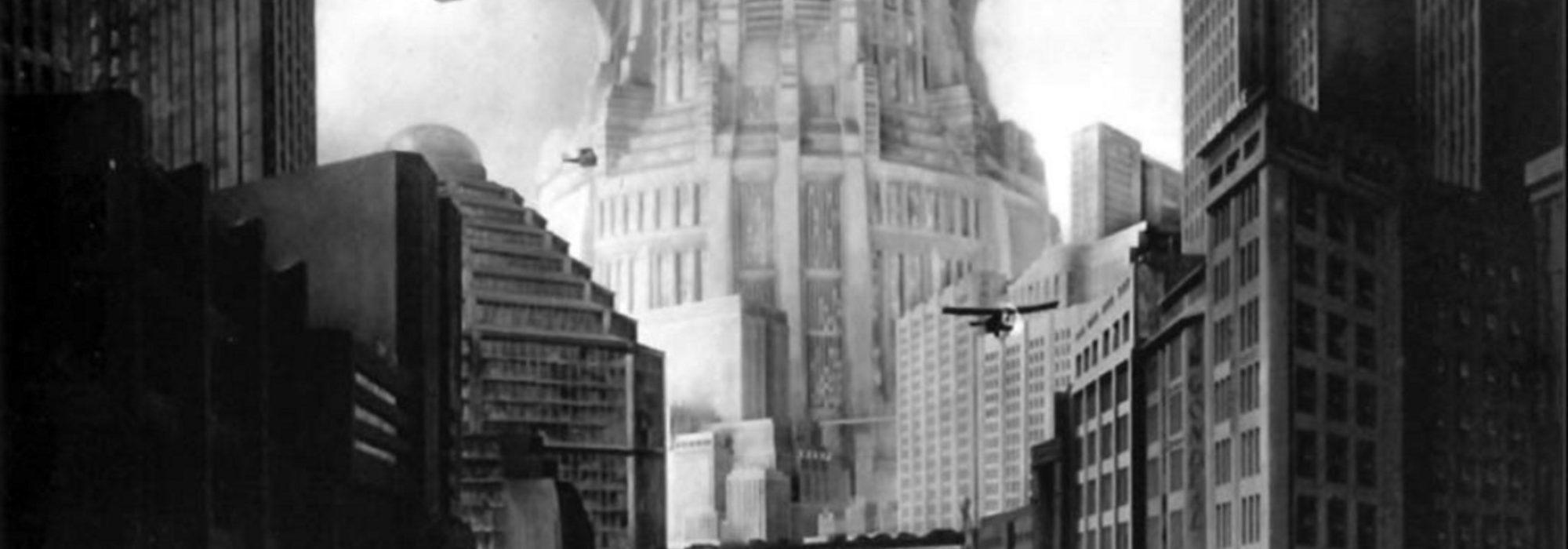 Foto: cena do filme Metrópolis (1927)