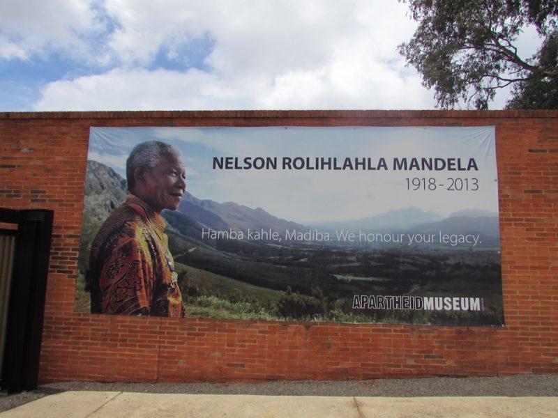 Museu do Apartheid, na África do Sul: Nelson Mandela e sua história. / Foto: Rogério Borges