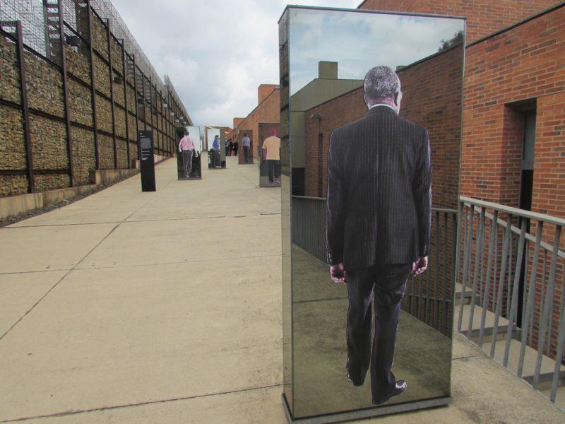 Instalações do Museu do Apartheid: narrativas de uma memória dolorida. / Foto: Rogério Borges