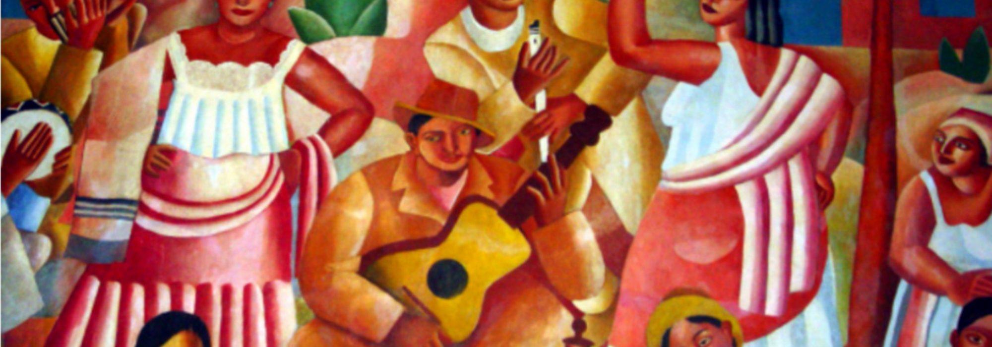 Imagem: Samba (Di Cavalcanti)