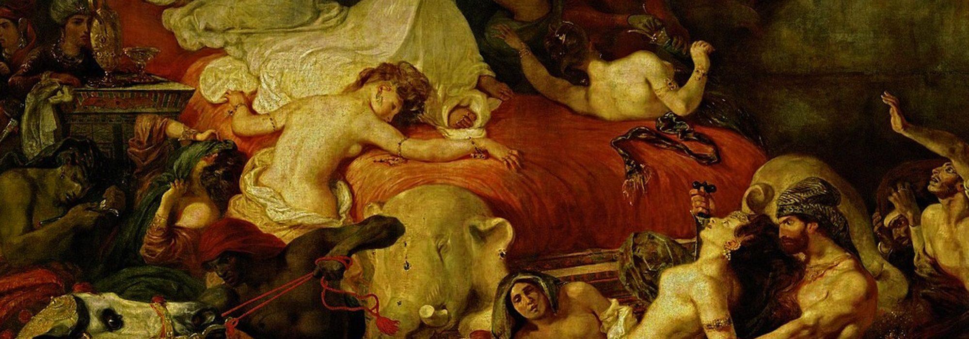 A Morte de Sardanapalus - Delacroix