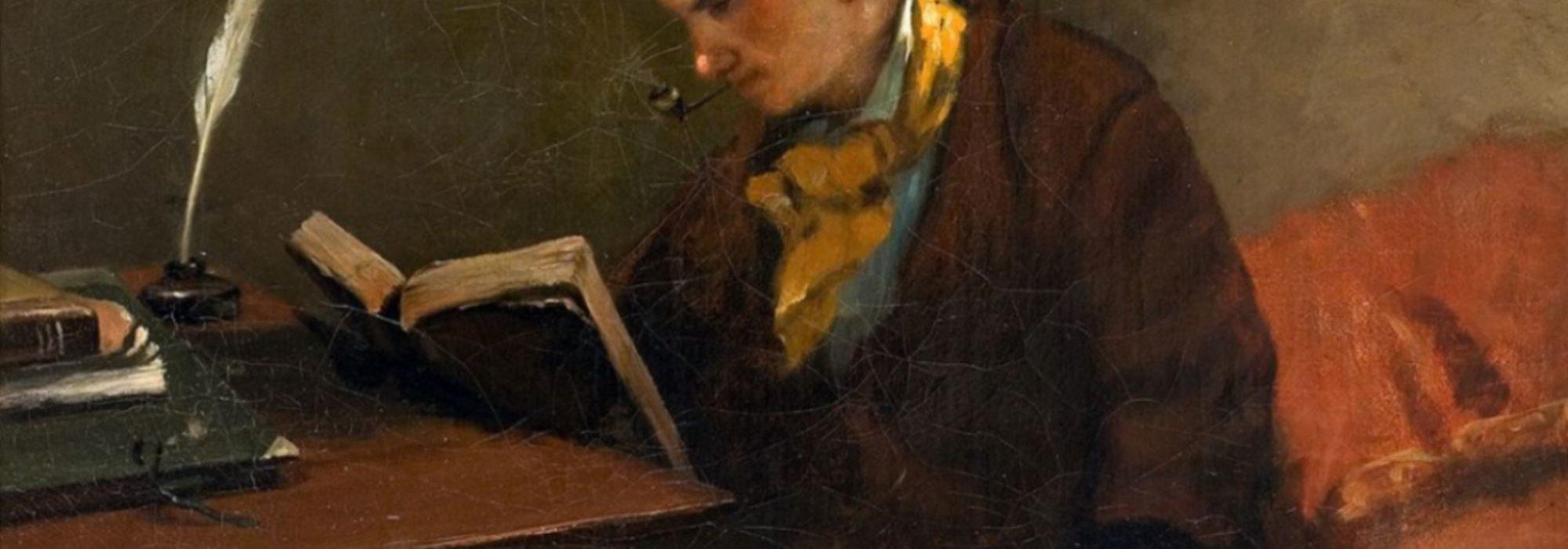 Imagem: Retrato de Baudelaire (Gustave Courbet)