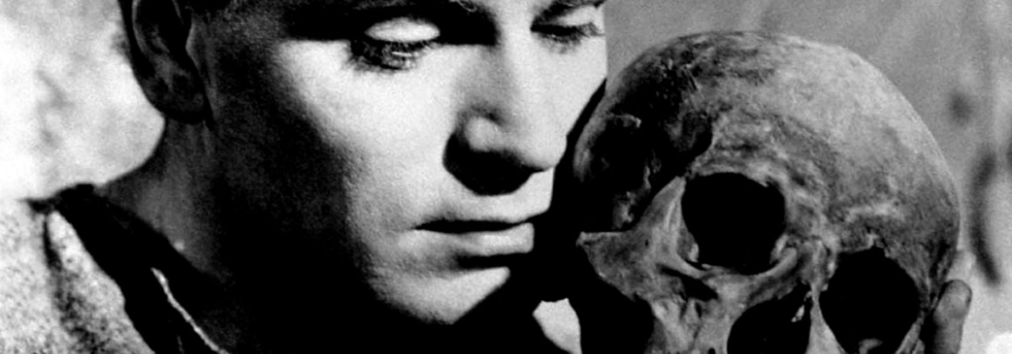 Foto: Laurence Olivier em Hamlet (1948)